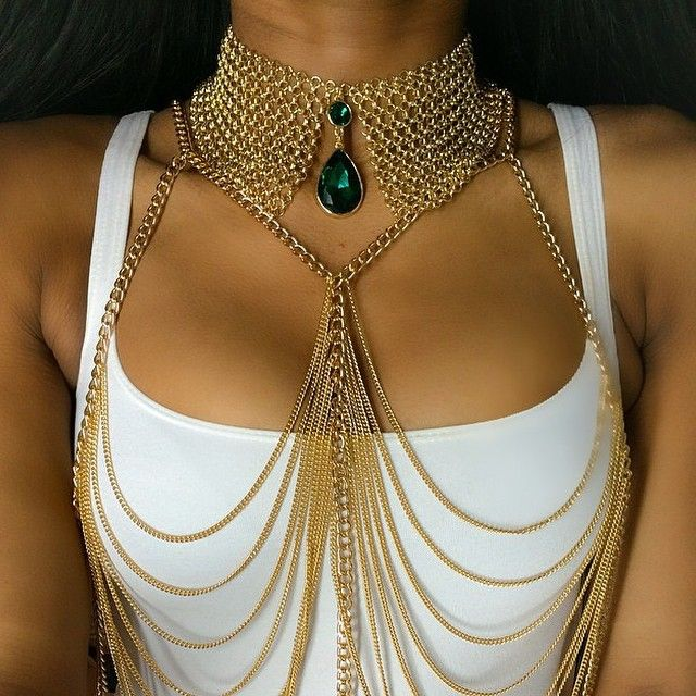 Imagen de necklace, gold, and jewelry