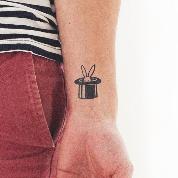 Check out this mysterious Tattly we pulled out of our hats just for you! It's Bunny Magic by Christoph Niemann and it's only accessible if you land on our Error 404 page. Aren't you glad you got a lit