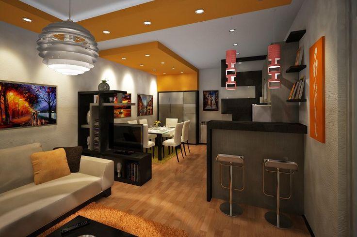 Small&Orange apartment / Interior design