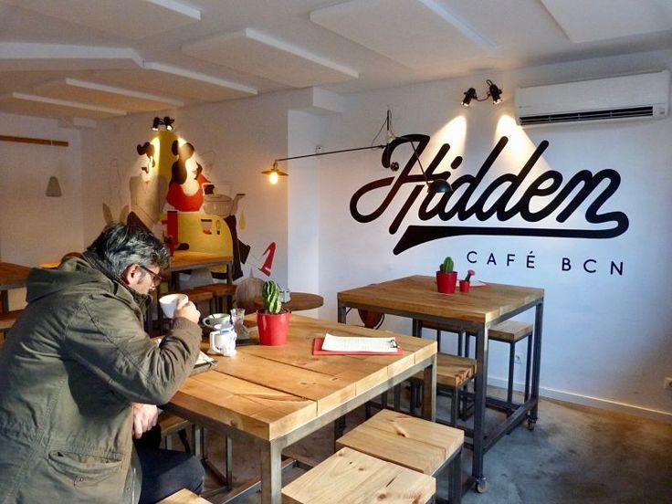 Hidden Café BCN, ¡Specialty coffee y matcha bar en Barcelona!