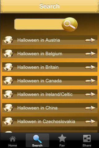 Halloween Traditions Around The World. iPhone Screenshot 3 found on AnyKey.Com