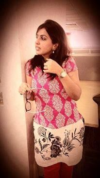 Shikha Singh goes all pink to support the #BreastCancerAwareness month.