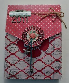 ArtFromMyHeart: A Minialbum In A Box... with Teresa Collins Design...