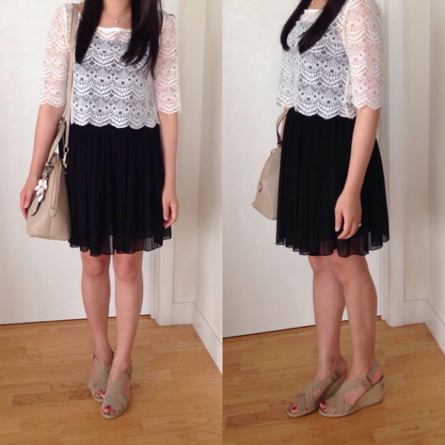 outfitters lace top recommended by stylishpetite