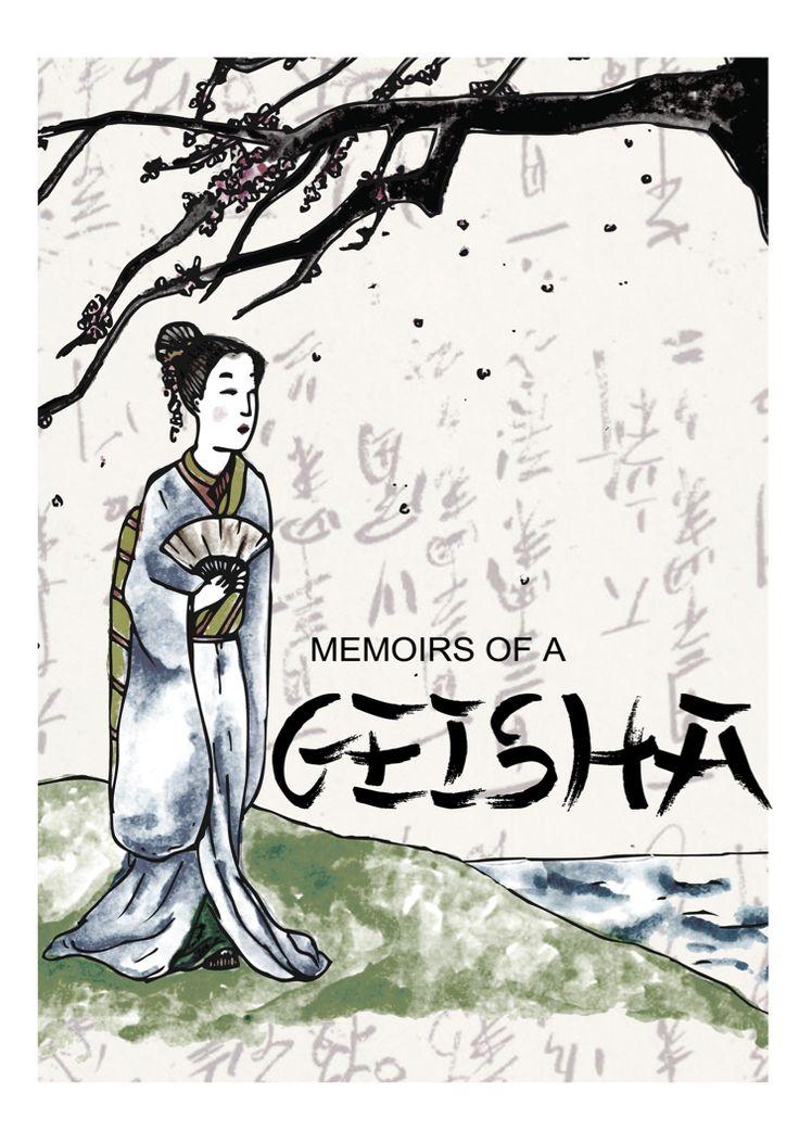 #memoirsofageisha #illustration #bookcover #books #read #draw #art