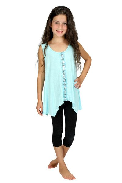 This flowy comfortable top adds just the right amount of sparkle to your outfit. Perfect for a special occasion or just hanging out!