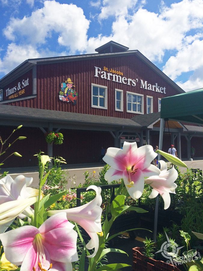 Mennonites, Markets and More in St. Jacobs, Ontario