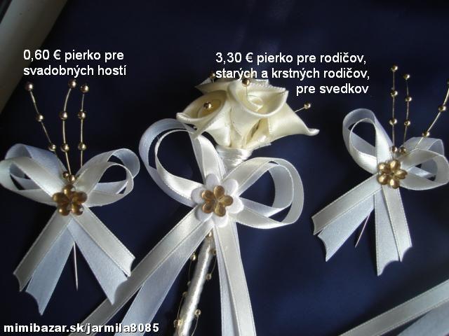 Svadobné pierka pre všetkých