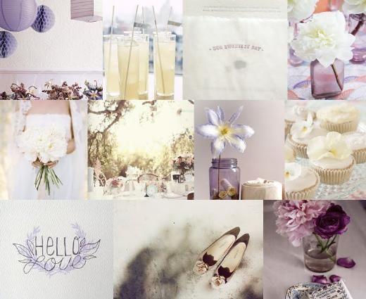 paarse bruiloft