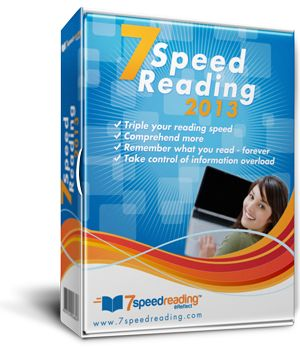 Speed reading guide and course 2013