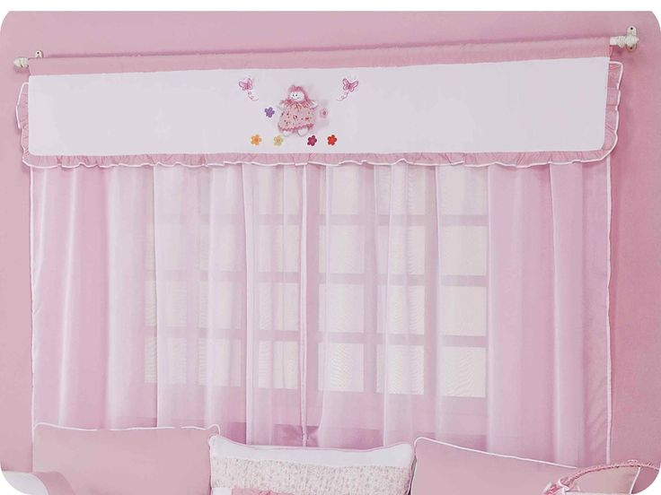 Cortinas para quarto de menina: confira algumas dicas - http://www.quartosdemeninas.com/cortinas-para-quarto-de-menina-confira-algumas-dicas/