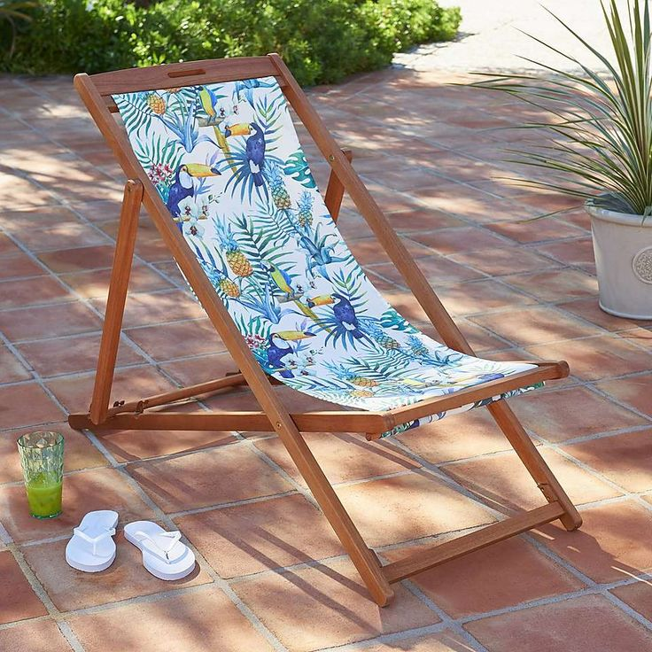 Deck Chairs, Butterfly Chair