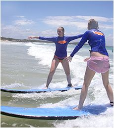 Noosa Surf Lessons - cheaper in advance $65