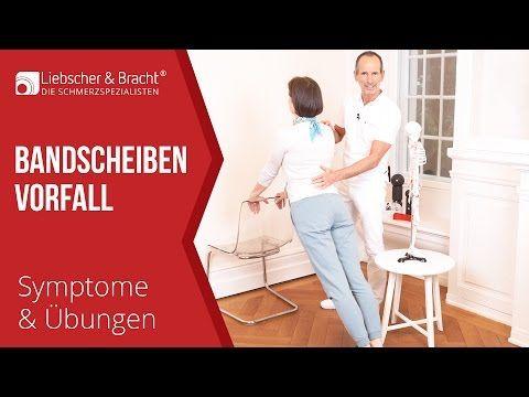 Bandscheibenvorfall | Symptome Liebscher & Bracht Übungen | Lendenwirbelsäule Halswirbelsäule