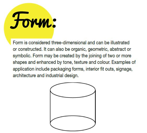 Form Definition In Art : Best elements principles process of art images on
