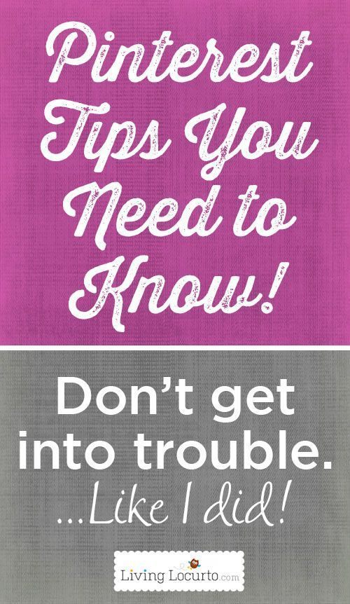 Important Pinterest Tips You Need To Know!