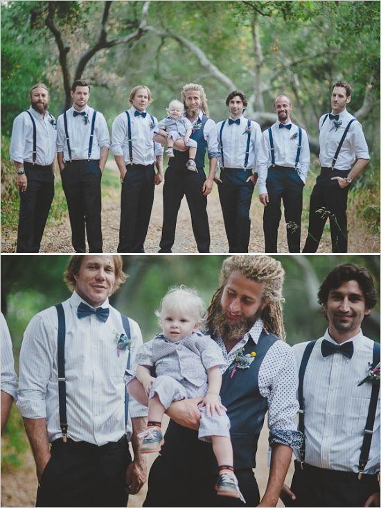 naked brides in suspenders