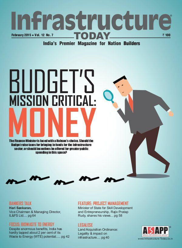 Infrastructure Today having its February 2015 issue!