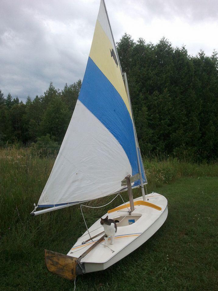 Sunfish sailboat for sale