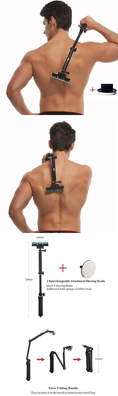 Other Shaving and Hair Removal: Best Back Shaver Men Body Grooming Kit Back Hair Removal Body Hair Shaver -> BUY IT NOW ONLY: $37.95 on eBay!