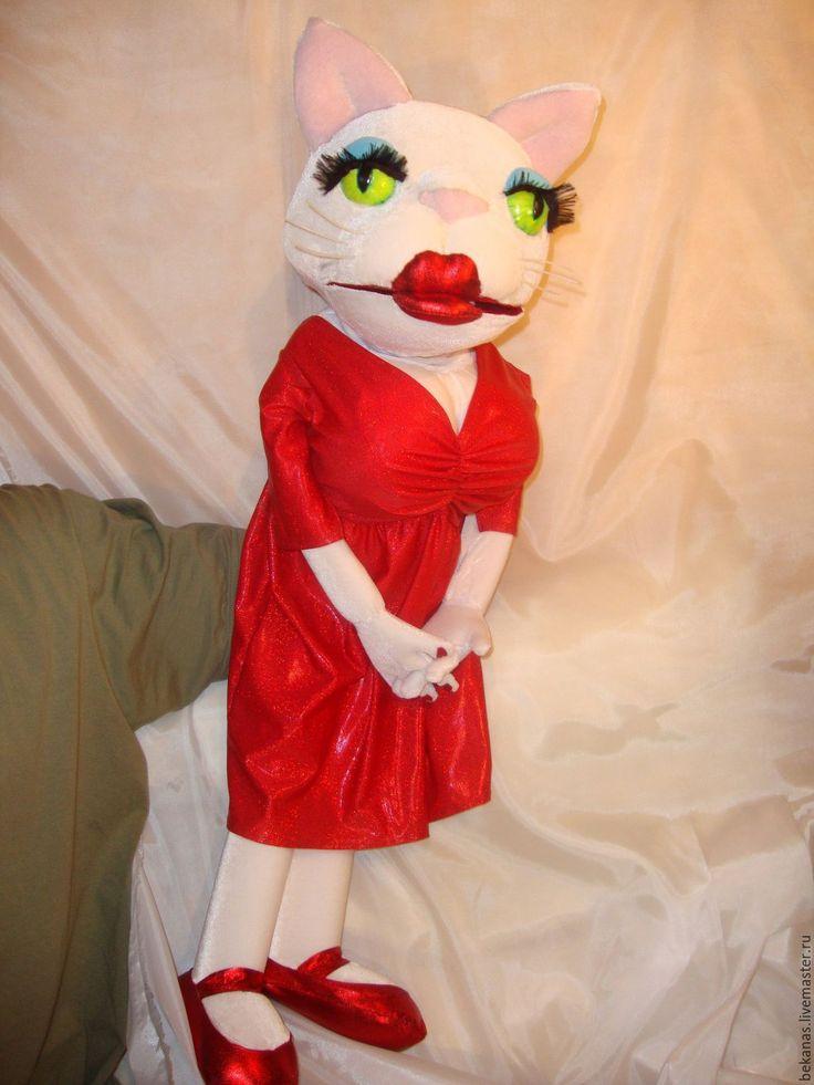 Купить Перчаточная кукла - перчаточная кукла, марионетка, кукла, поролон, флис, поролон, флис, ткань