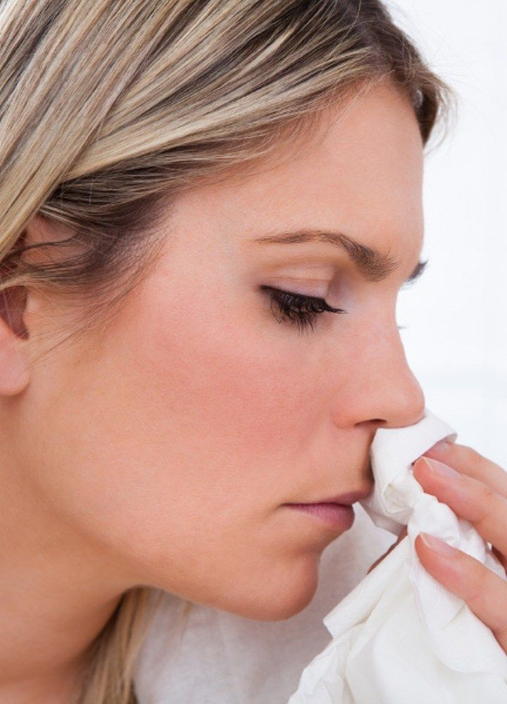 How To Get Rid Of Crusty Nose From Cold