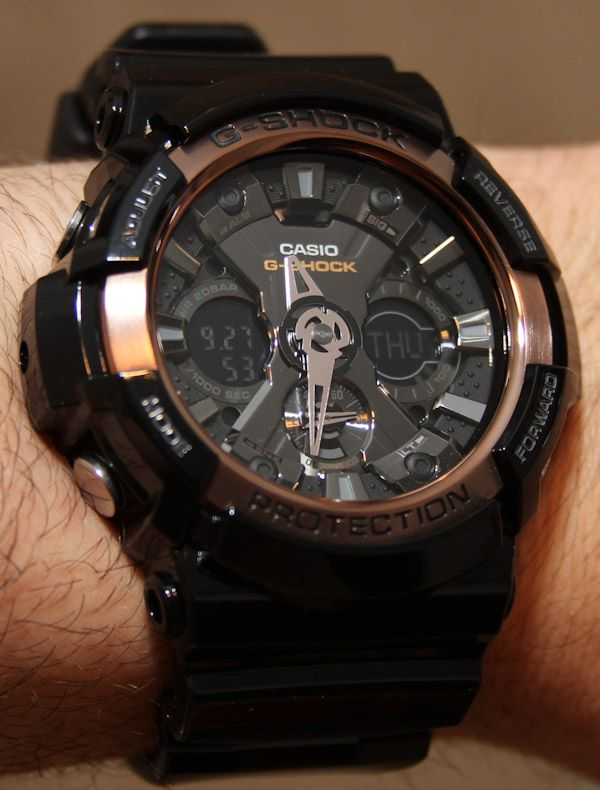 Casio G-Shock GA200RG Watch Review
