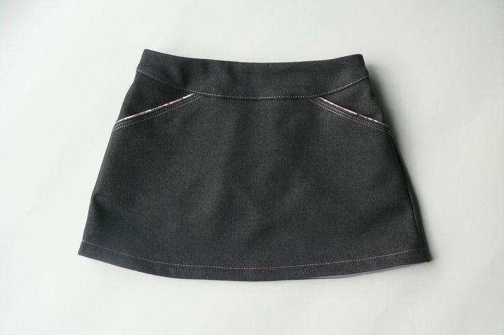 Jupe MINI-PERLE, version B sans volant, patron de couture Ivanne.S, by Les Cousettes de Zebulon