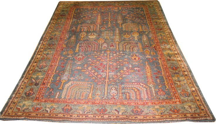 #awesome #antique #turkish Ushak room size carpet.