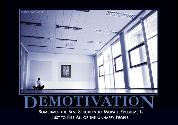 Demotivation Demotivator