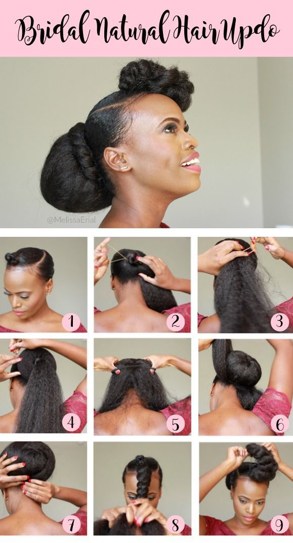 Bridesmaid Natural Hairstyles Updo For The Entire Wedding Party Natural Hair Updo Natural Hair Styles Natural Hair Styles Easy