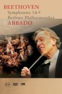 Ludwig van Beethoven   Claudio Abbado     アバドとBPOによる映像版ベートーヴェン全集。ベーレンライター新校訂譜の採用などで話題を呼んだこの全集は、2000年の第9番でスタートしましたが、ほどなくアバドが病に倒れたため、一時は完成を不安視されてさえいましたが、幸いにもアバドが復調、2001年の2月に、他の作品をローマで一気に収録したものです。  ベートーヴェン:交響曲全集 Vol.1  ・交響曲第3番変ホ長調作品55『英雄』  ・交響曲第9番ニ短調作品125『合唱』    ベルリン・フィルハーモニー管弦楽団  クラウディオ・アバド(指揮)  2001年2月5日、ローマ、サンタ・チェチーリア音楽院[第3番]  2000年5月1日、ベルリン、フィルハーモニーザール[第9番]