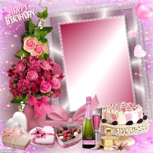105 Best Birthday Frames Images On Pinterest Birthday Frames