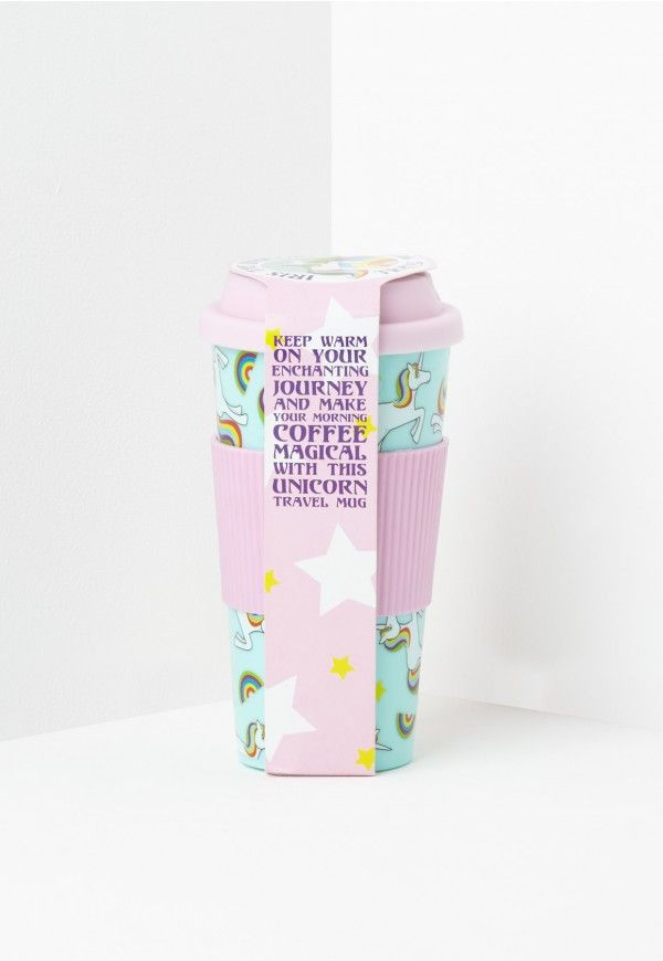 Unicorns are everywhere at the minute! If you know a unicorn loving teen then this travel mug is perfect!
