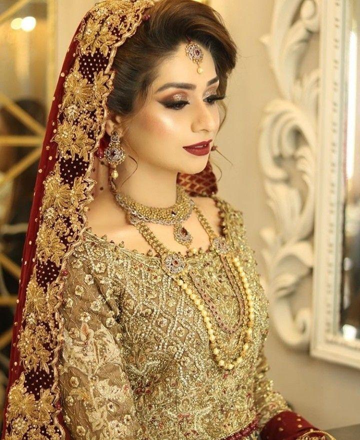 Barat Bridal Pakistani Bride Bride Beauty Bride Dress