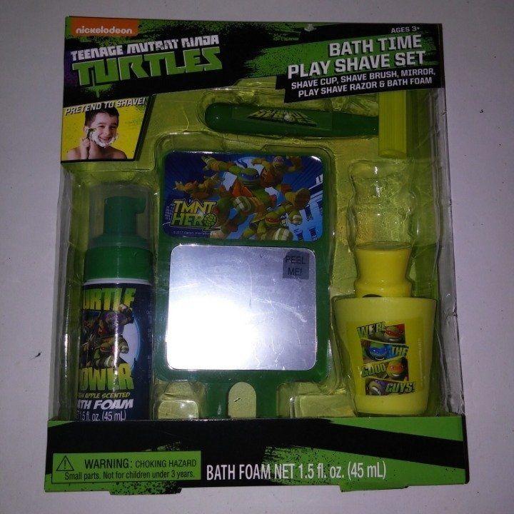 Bath Time Play Shave Set Teenage Mutant Ninja Turtles Pretend To