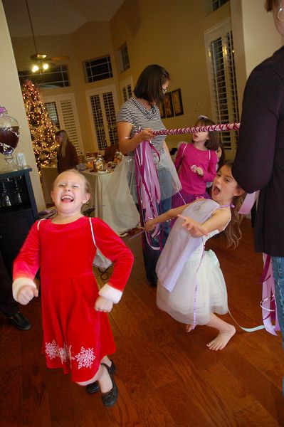 Whenever I play limbo at a kids party it's an instant hit. The kids can keep at it forever!