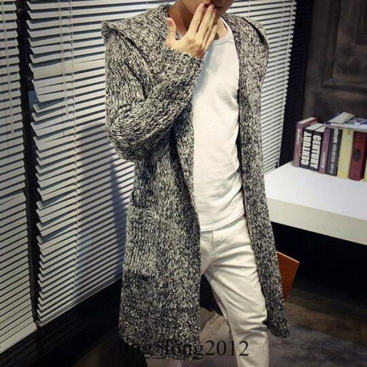 Best 25  Hooded cardigan mens ideas on Pinterest | Mens chunky ...