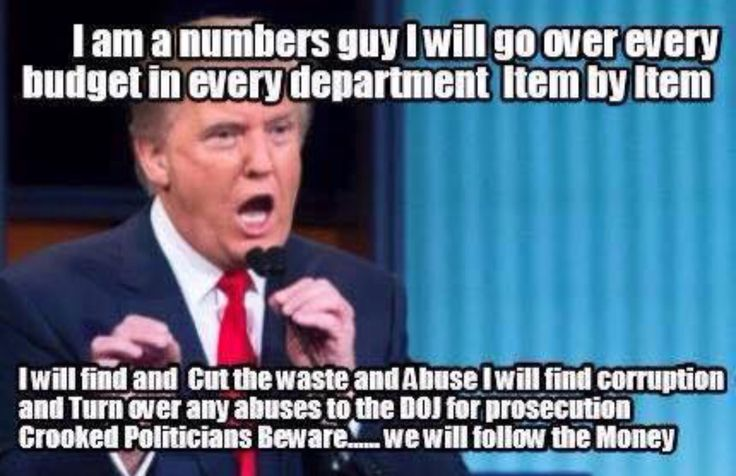 """2016 DONALD J TRUMP: A """"numbers guy"""" - what's not to like? Get on the """"Trump Train."""