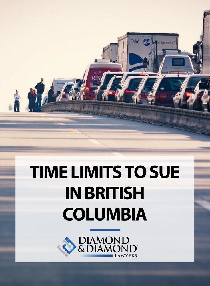 Nearly every legal claim has a time limit. In our latest blog article, we talk about what the time limits are to sue in British Columbia. In general, it's a good idea to speak to a lawyer as soon as you have a claim. Read more about what you should know here.