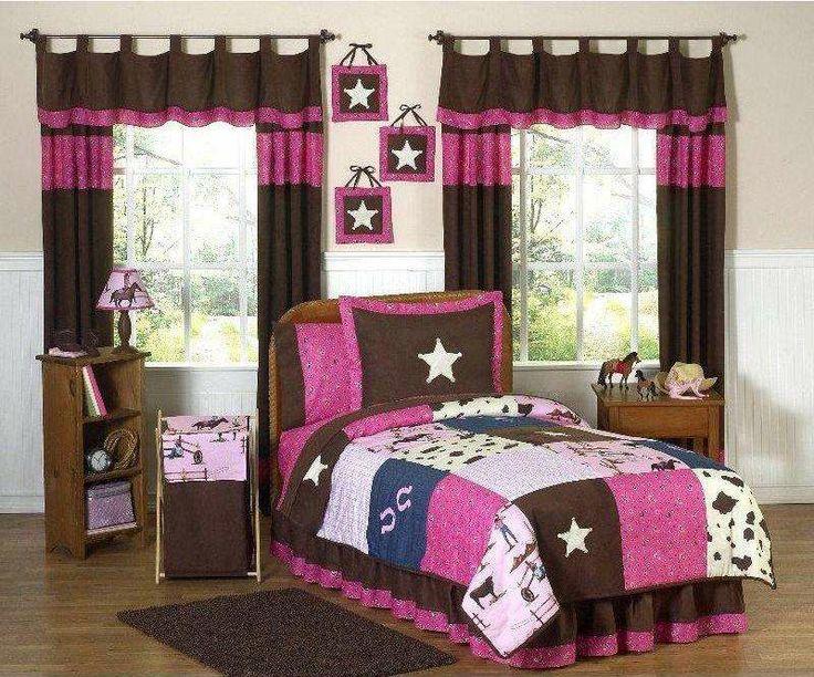 Cowgirl Western Bedding Set from #bedding.com #jojodesigns #girlsbedding