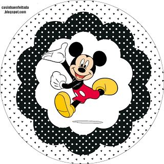 Mickey Party Kit For Free Print