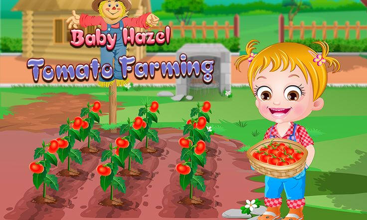 Baby Hazel has planned to grow tomato plants in her kitchen garden. Be with Hazel to understand different stages of tomato farming and then grow tomato plants. Enjoy tomato farming with Hazel! https://play.google.com/store/apps/details?id=air.org.axisentertainment.BabyHazelGardeningTime