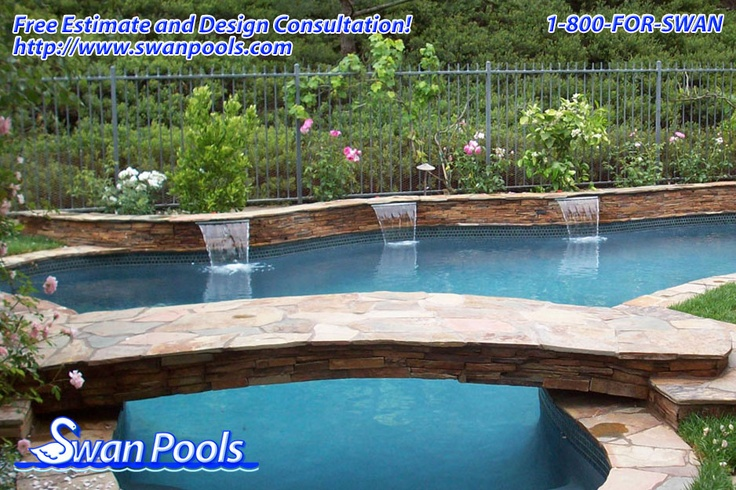 39 best swan pools sheer descents rip rap water features images on pinterest buildings pools