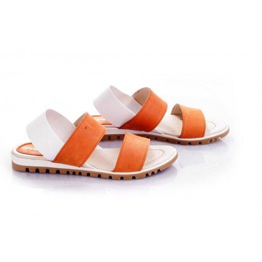 Dámske sandále za najlepšie ceny oranžovej farby - fashionday.eu