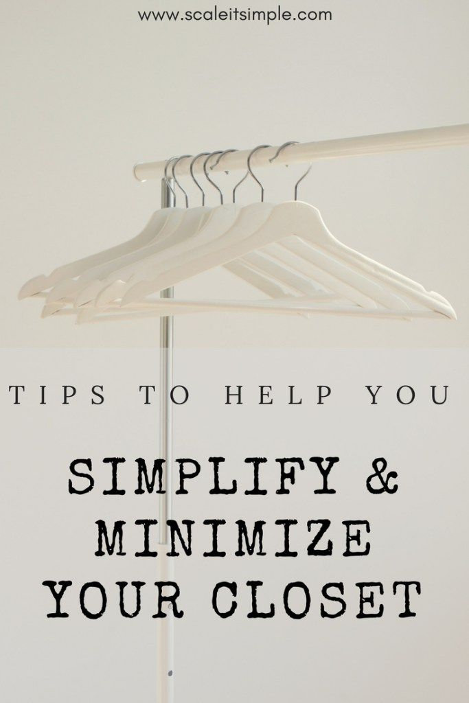 Tips to help you reorganize and minimize your closet. If you are searching for a simpler more minimal life starting with your closet is a great way to begin.
