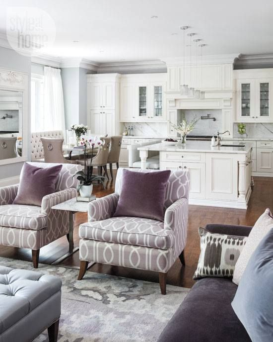 Best 25 open concept kitchen ideas on pinterest vaulted - Open concept living room furniture placement ...