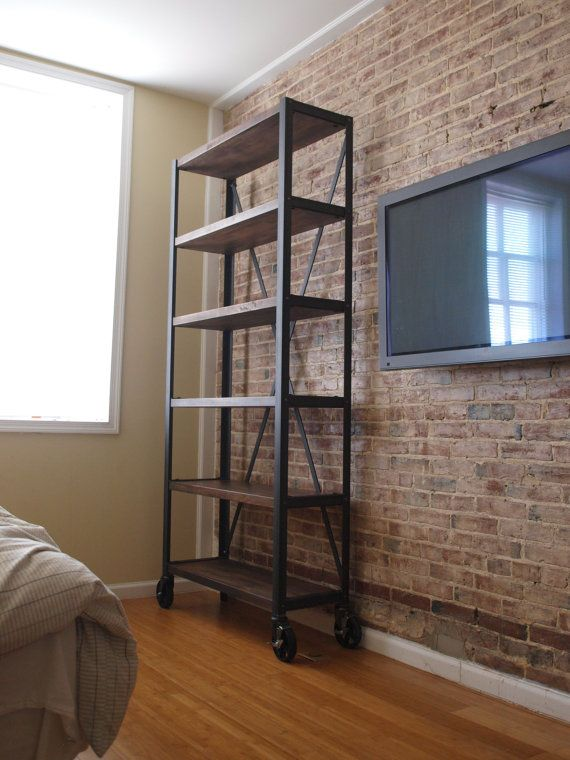 Hey, I found this really awesome Etsy listing at https://www.etsy.com/listing/162792763/engineers-industrial-bookcase-shelf