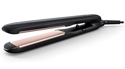 Philips HP8321/20 Lisseur, céramique, plaques longues: Revêtement céramique pour une glisse ultra-douce Plaques longues de 100mm pour un…