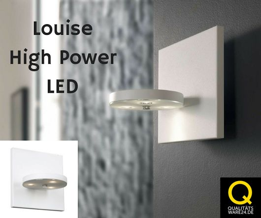Dimmbarer Power #LED #Wandspot Louise    hier bestellen: http://bit.ly/2jXO4Bp     #Wandlampe #wohnen #Innenbeleuchtung #wohndesign  #lampen
